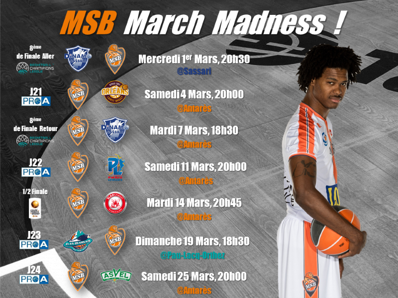 MSB March Madness programme totalBD