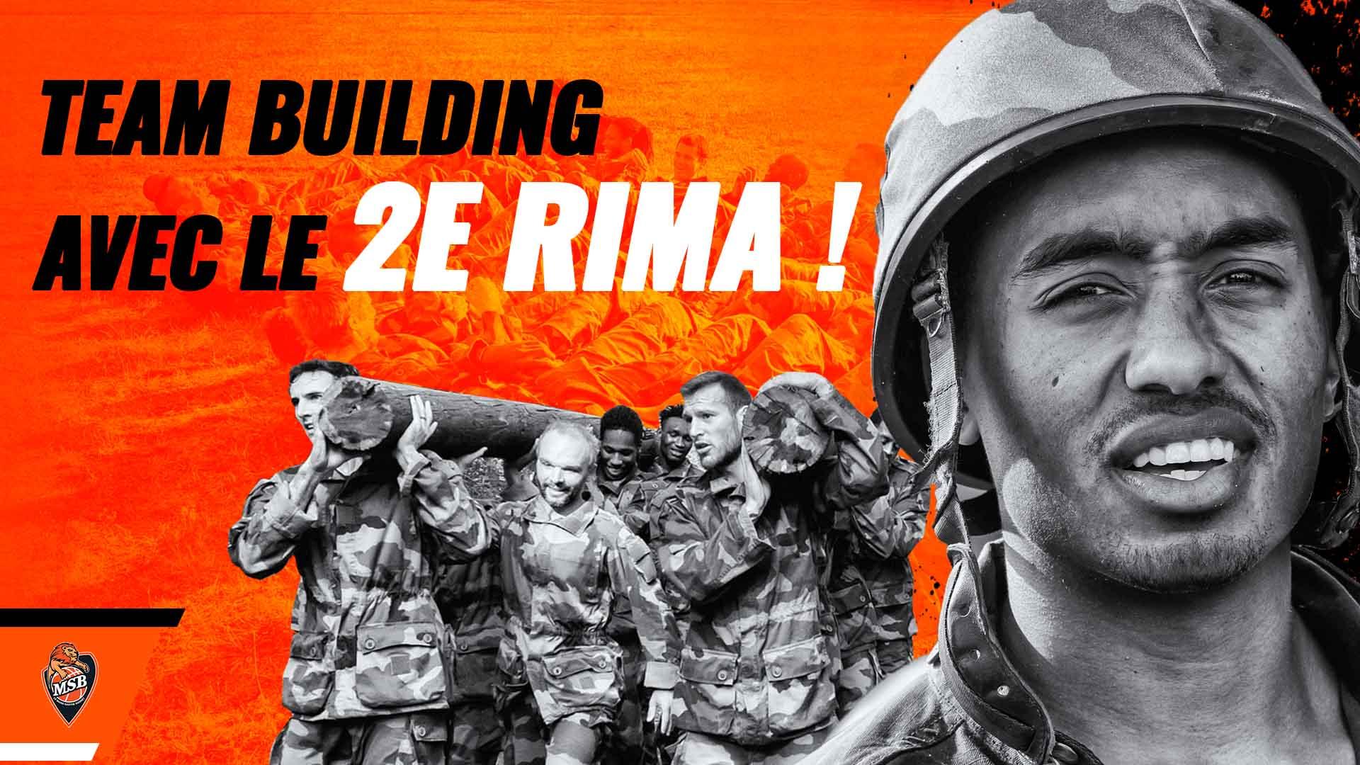 Team Building avec le 2e RIMa !