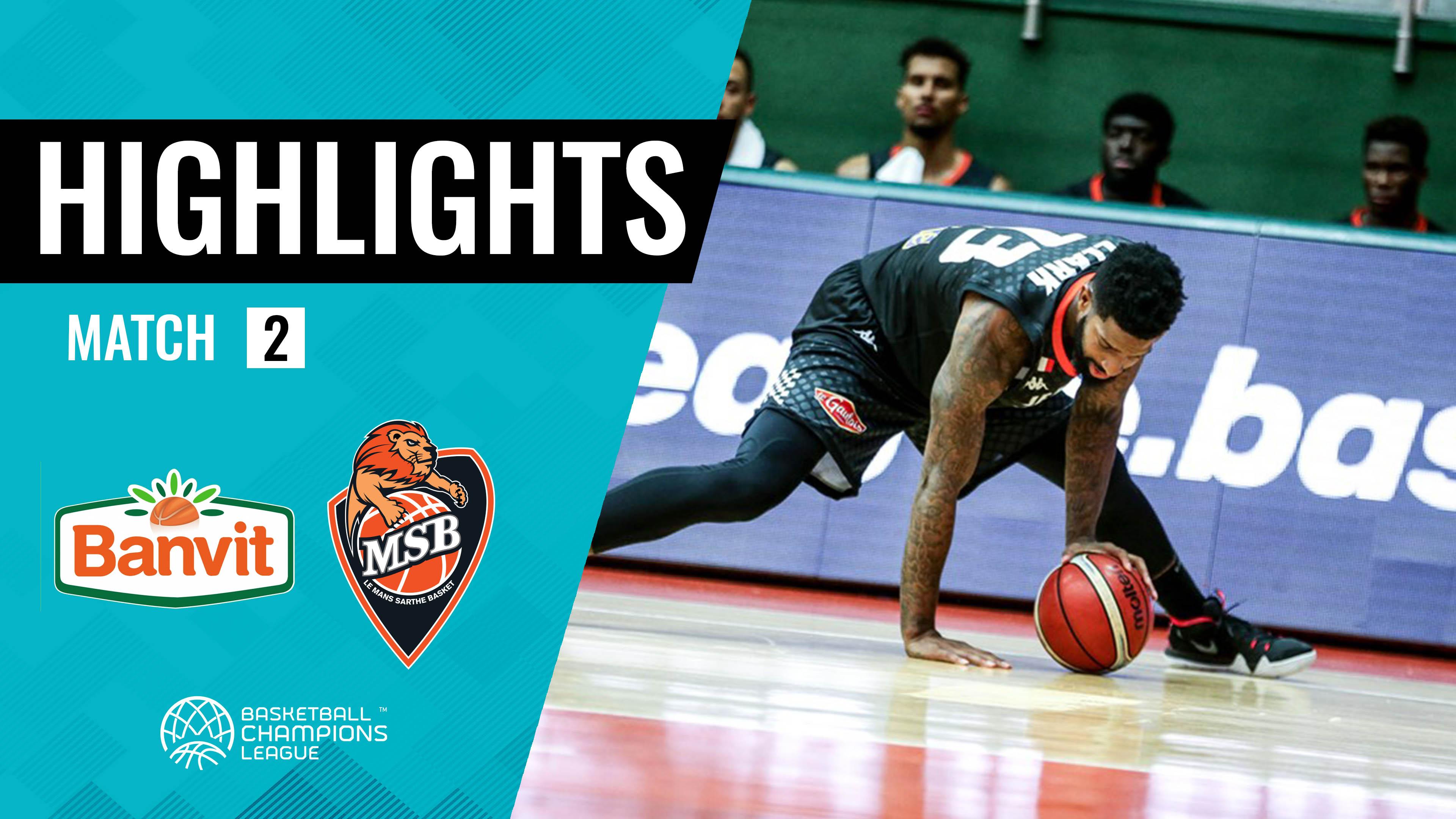 Highlights Banvit - MSB