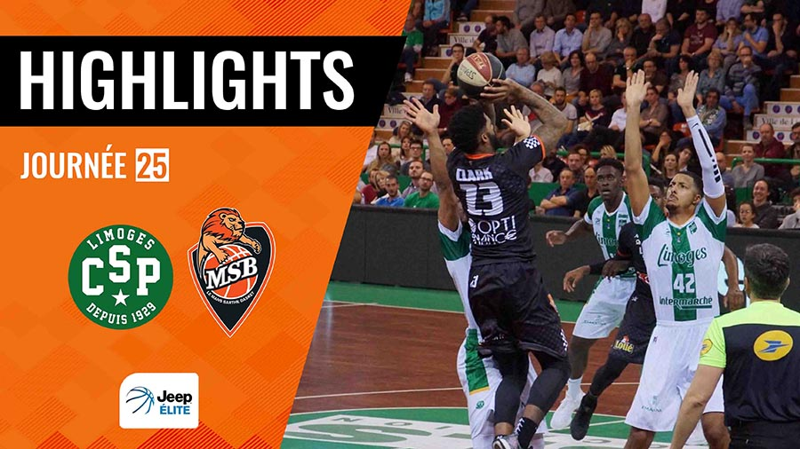 Highligths Limoges vs. MSB