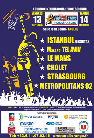 Affiche Tournoi dAngers 2019