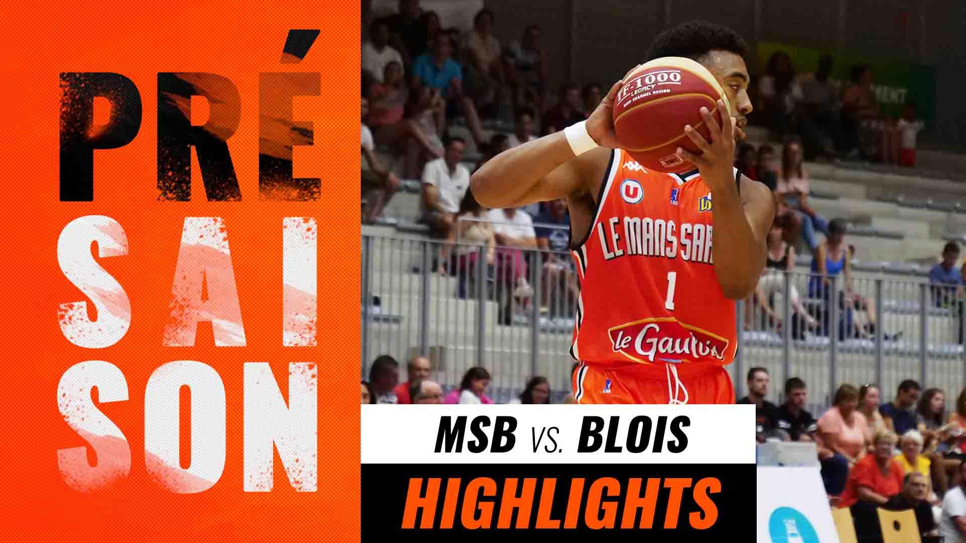 Présaison 1 | MSB -  Blois