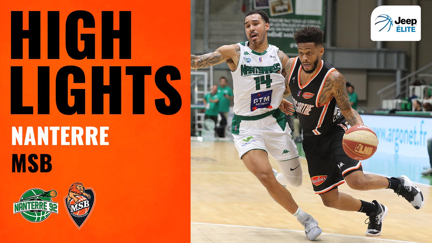 Nanterre - MSB | Highlights