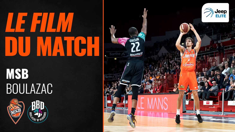 MSB - Boulazac | Le film du match