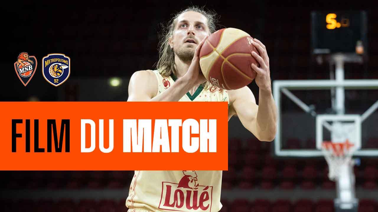 FILM DU MATCH | MSB vs BOULOGNE-LAVALLOIS