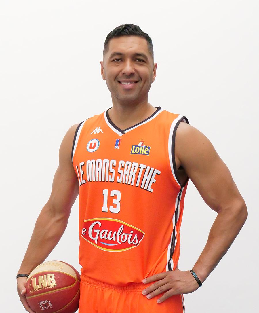 MSB Le MANS Officiel Ext/érieur 2018-2019 Maillot de Basketball Enfant